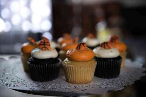 Fresh-baked cupcakes for notorious NBA frenemies, Kevin Durant and Russel Westbrook.